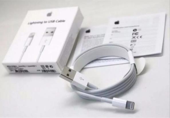 1e4589d0818 Cable Cargador Lightning Original Usb Apple 5,6,7,8, X, iPad ...