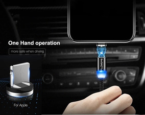 646844f97c2 Cable Cargador Magnetico, iPhone, Tipo C, Micro Usb