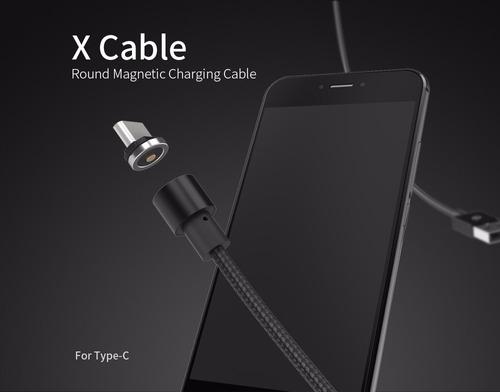cable cargador magnético para celulares y iphone