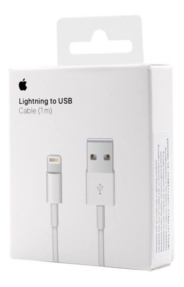 fcf187ce2b0 cable cargador original apple lightning usb iphone 5 6 7 8 x. Cargando zoom.
