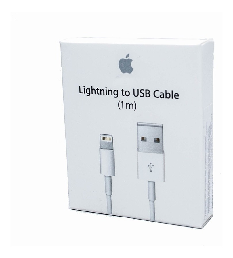 47df15f01bf Cable Cargador Original Lightning 1m iPhone 5,6,7,8 X iPad ...