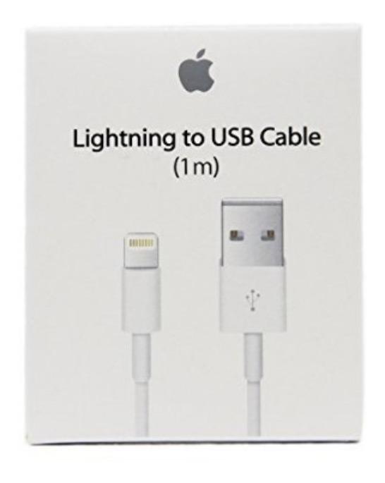 47df15f01bf Cable Cargador Original Lightning 1m iPhone 5,6,7,8 X iPad ...