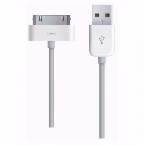 cable + cargador pared iphone 3 - 4 reemplazo certificado