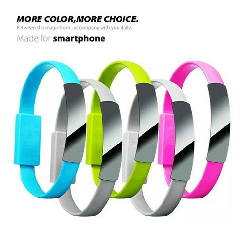 cable cargador pulsera iphone