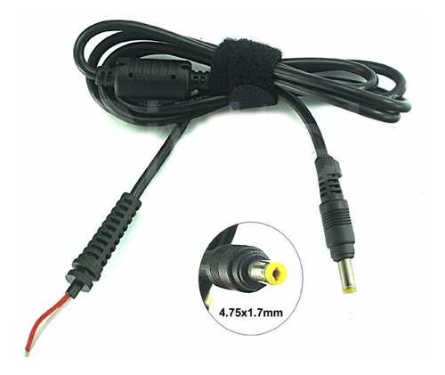 cable cargador repuesto 4,75 x 1,75mm hp compaq