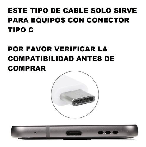 cable cargador samsung a50 a30 a20 datos usb 3.1 tipo c