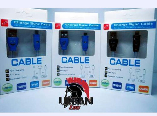 cable cargador samsung micro usb , blackberry, lg, htc