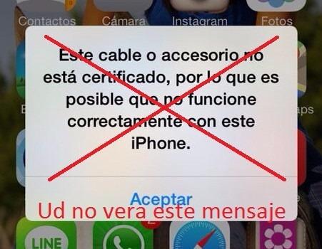 cable cargador ultracertificado usb iphone 5 5s 6 7 8 tienda