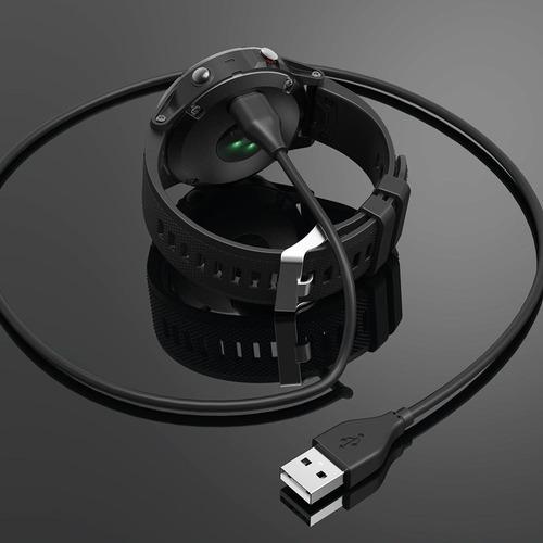 cable cargador usb garmin fenix 5/5s/5x/ fr245/ 45/ 935/ 945