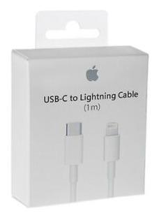 cable cargador usb lightning apple original gtia iphone 1m