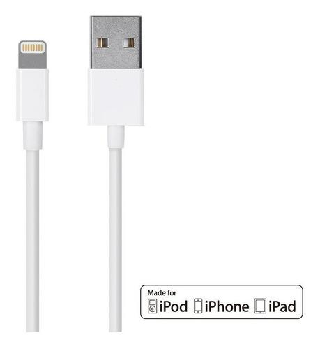 cable cargador usb lightning para iphone ipad 3 metros largo