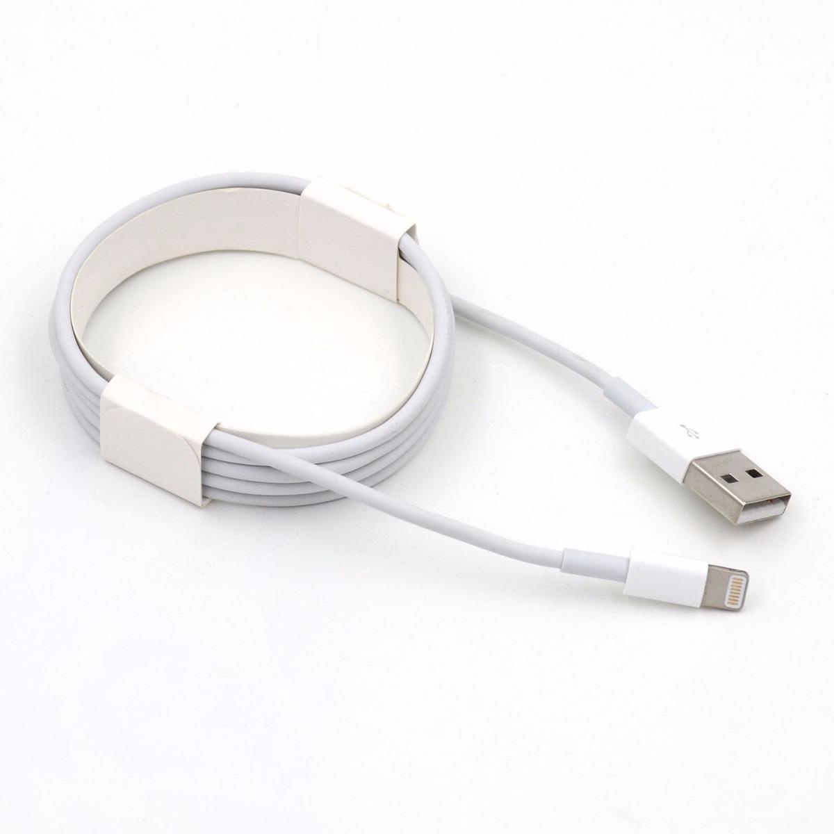 cable cargador usb original iphone 5 5s 5c 6 envio gratis. Black Bedroom Furniture Sets. Home Design Ideas