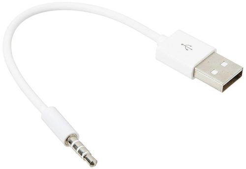 cable cargador usb para ipod shuffle de 5,5 cm