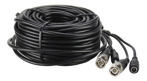 cable cctv camara video + alim hikvision dahua