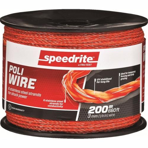 cable cerco electrico polywire 6 filamentos inox ganado 200m