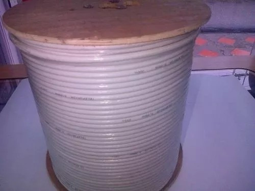 cable coaxial bobina 305 mts al mayor y detal