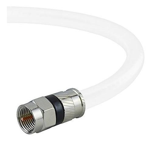 cable coaxial mediabridge (25 pies) con conectores f macho -