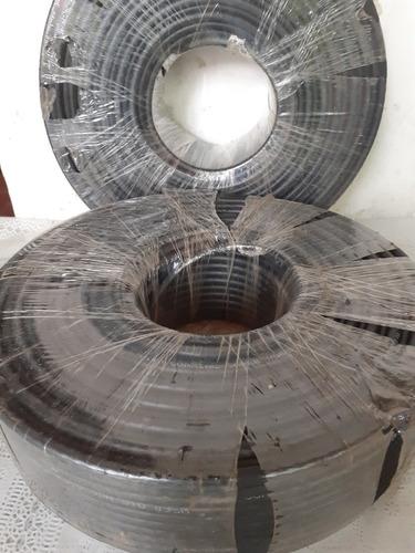 cable coaxial rg-6 rollo de 100 mts color negro (25 verdes)