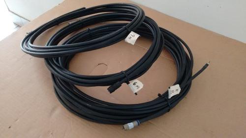 cable coaxial rg-6/u con conectores