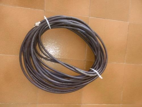 cable coaxial rg 8- 50 ohms. 21 mts con conectores