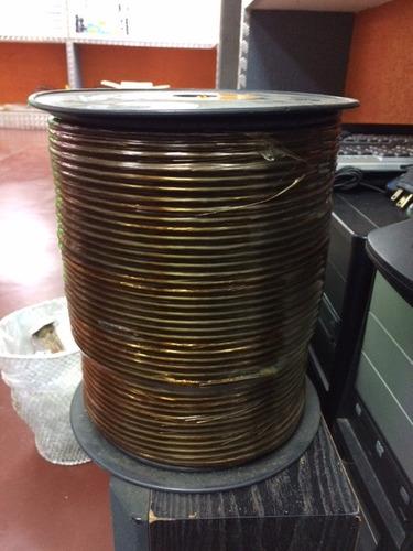 cable coaxial rg56-32bk 75 ohmios por rollo de 305 mts