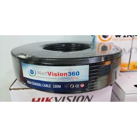 Cable Coaxial Rg6 Netvision360 Por Metro