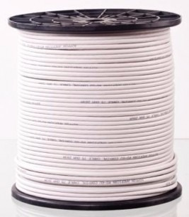 cable coaxil rg6 30 mts con fichas