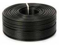 cable coaxil siamés con alimentación cctv- rollo de 100mts -