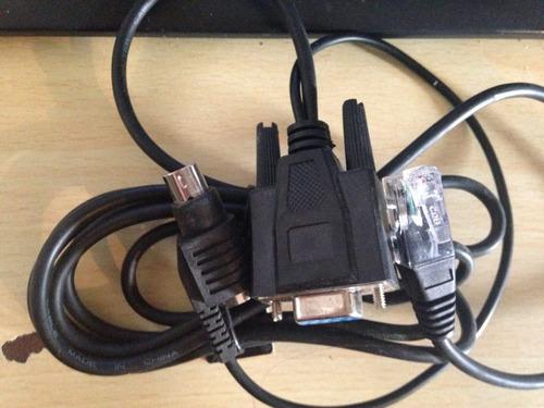 cable com von rj45 y ps2