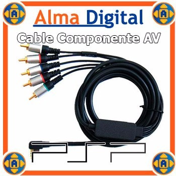 cable componente av play station portable psp2000 5ptas