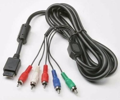 cable componente hd para ps2 y ps3