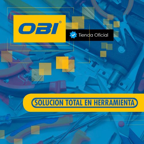 cable con nylon 7x19 3/16-1/4 negro 1 metro resistente obi