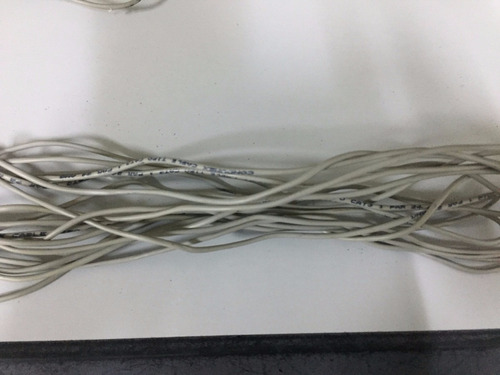 cable condumex cable tipo cat3 1pa24w 6.8metros usado