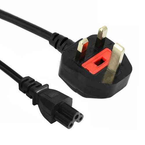 cable conector alimentacion 3 prong style big uk notebook