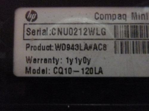 cable conector de placa power para netbook cq10 - 120la