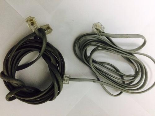 cable conector rj-11 telefonico usado tienda virtual