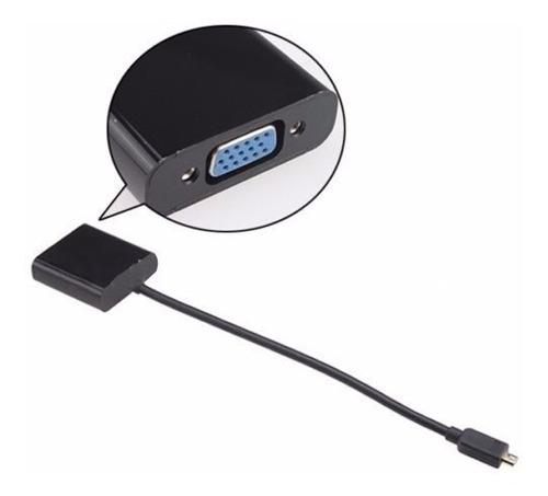 cable conversor micro hdmi a vga