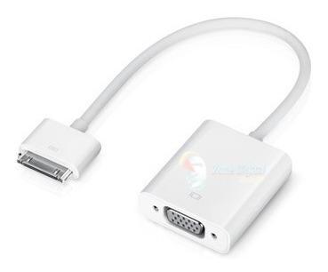 cable convertidor de iphone ipad ipod touch a vga