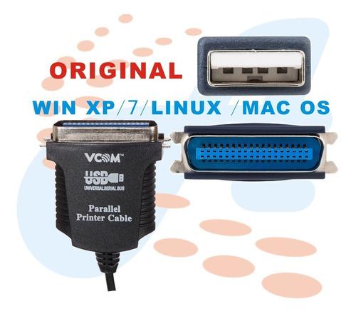 cable convertidor usb a paralelo impresora matriz de punto