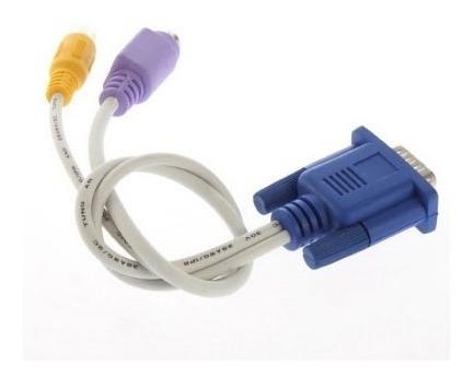 cable convertidor vga a super video s-video rca pc a tv tg