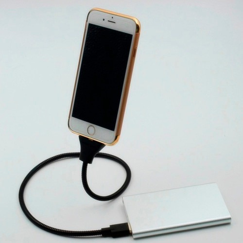 cable data usb coil brace iphone 5 6 7 android blu samsung
