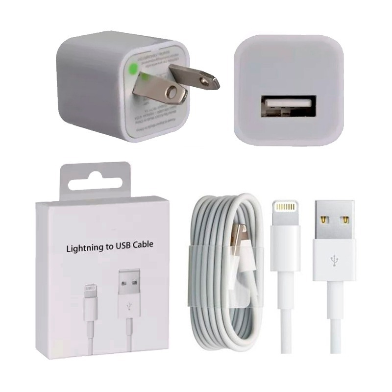 f58cae8e7d6 Cable Datos Calidad Aaa + Cargador iPhone X 8 Plus 7 6 5 Se - $ 300 ...