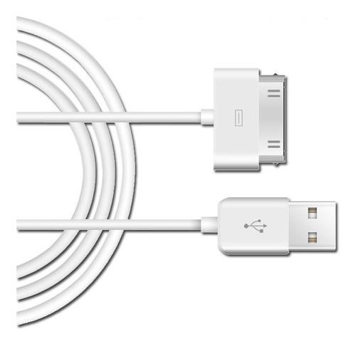 cable datos usb iphone 1m carga apple 3gs 4 4s 4g ipod ipad