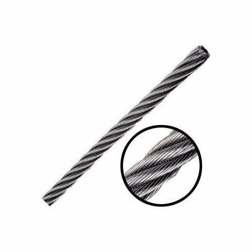 cable de acero 7x19 1/2 pulgada y 915 metros obi