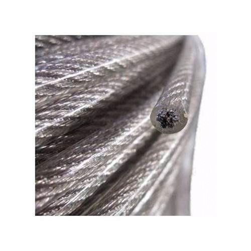 cable de acero en rollo 7x19 3/8 a 7/16 con pvc y 300 metros