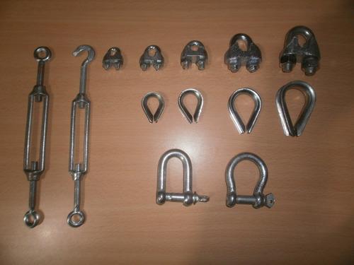cable de acero galvanizado 1x7 4mm - 5mm. oferta.