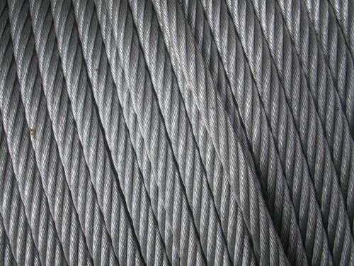 cable de acero galvanizado 6x19+1 ø 6 mm flexible