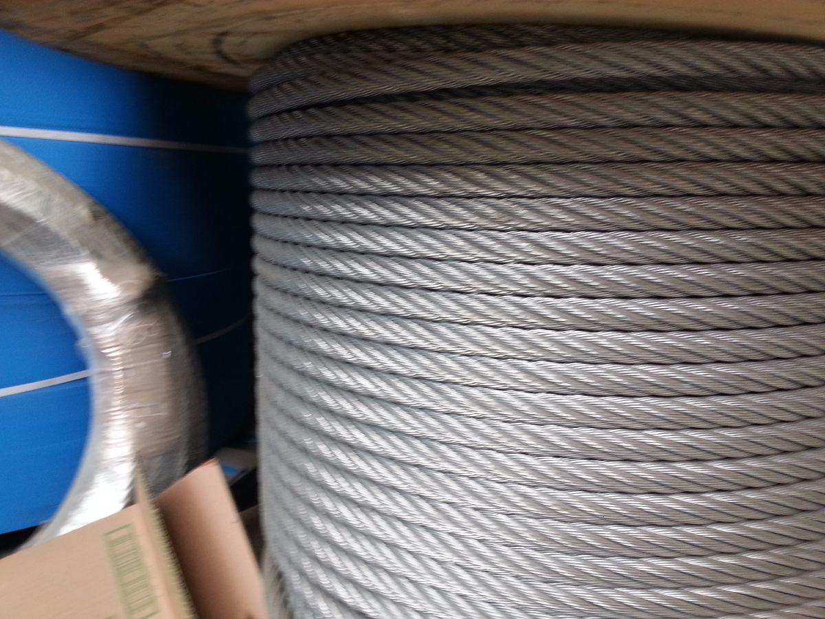 Cable de acero galvanizado 6x19 9 9 1 d 1 2 s 4 80 for Cable de acero precio