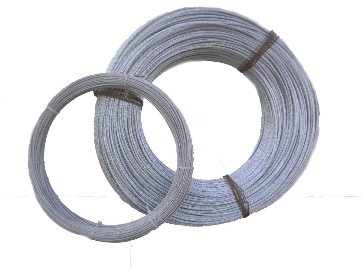 galvanizado 10 guardacabos de alambre para cable de 6 mm de di/ámetro