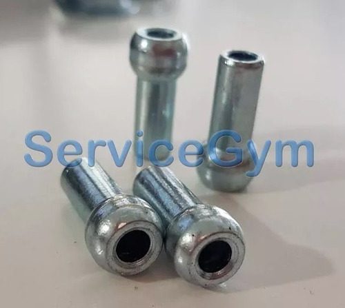 cable de acero gimnasio terminal gotita 5 mm  servicegym